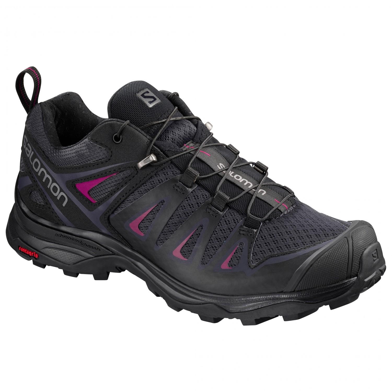 Salomon Women's X Ultra 3 Multisport shoes Graphite Black Citronelle | 4 (UK)