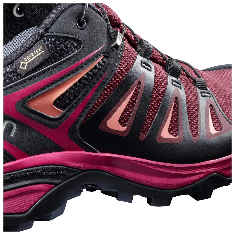 3d72968a818 Salomon - Women's X Ultra 3 GTX - Multisport shoes - Tawny Port / Black /  Living Coral | 4 (UK)
