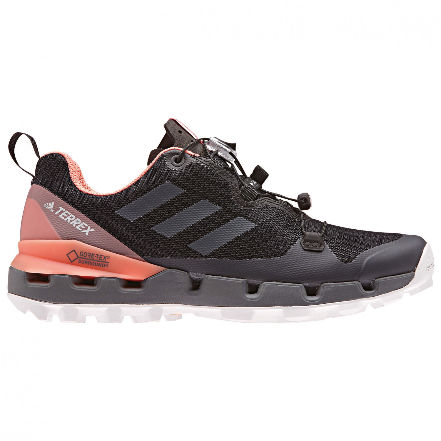 pick up genuine shoes online store adidas - Women's Terrex Fast GTX Surround - Multisport shoes - Legend Ink  F17 / Legend Ink F17 / Hi / Res Blue S18 | 4 (UK)