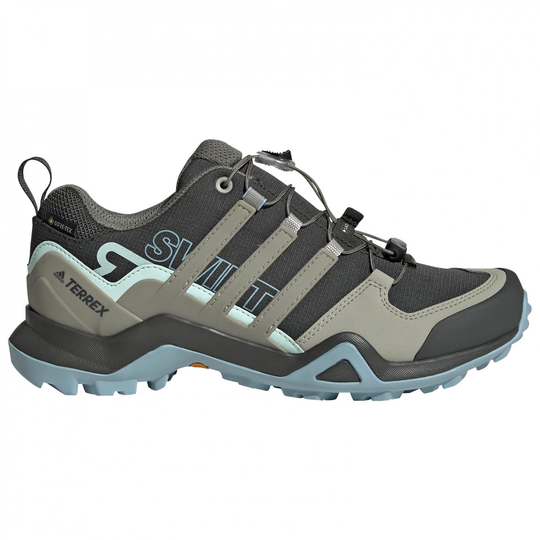 adidas - Women's Terrex Swift R2 GTX - Multisport shoes - Core Black / Dgh Solid Grey / Purple Tint | 4 (UK)