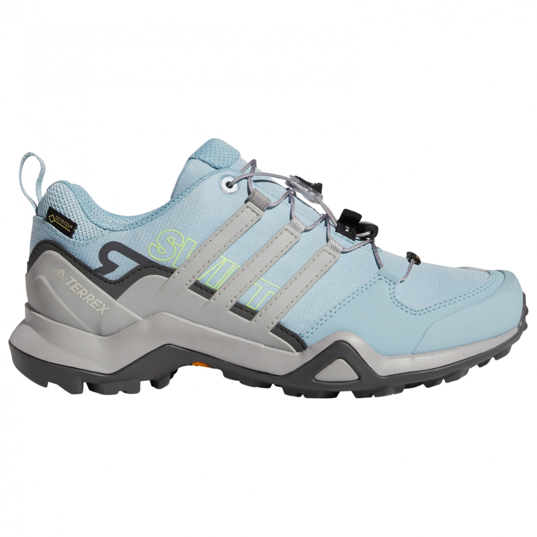 adidas Women's Terrex Swift R2 GTX Chaussures multisports Tech Ink Carbon Glow Blue | 4 (UK)