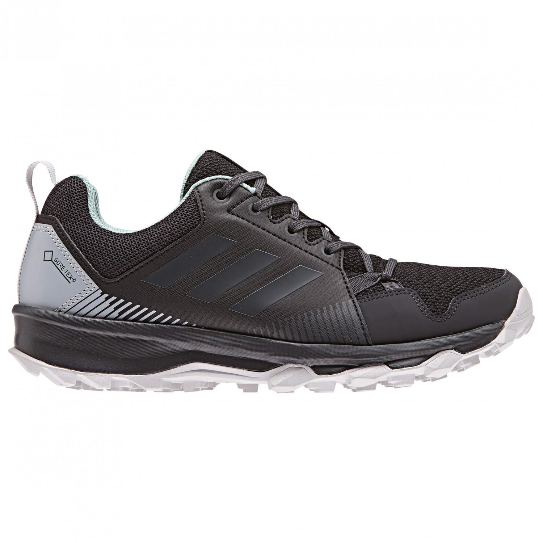 adidas Women's Terrex Tracerocker GTX Trailrunningschuhe Core Black Carbon Ash Green | 4 (UK)