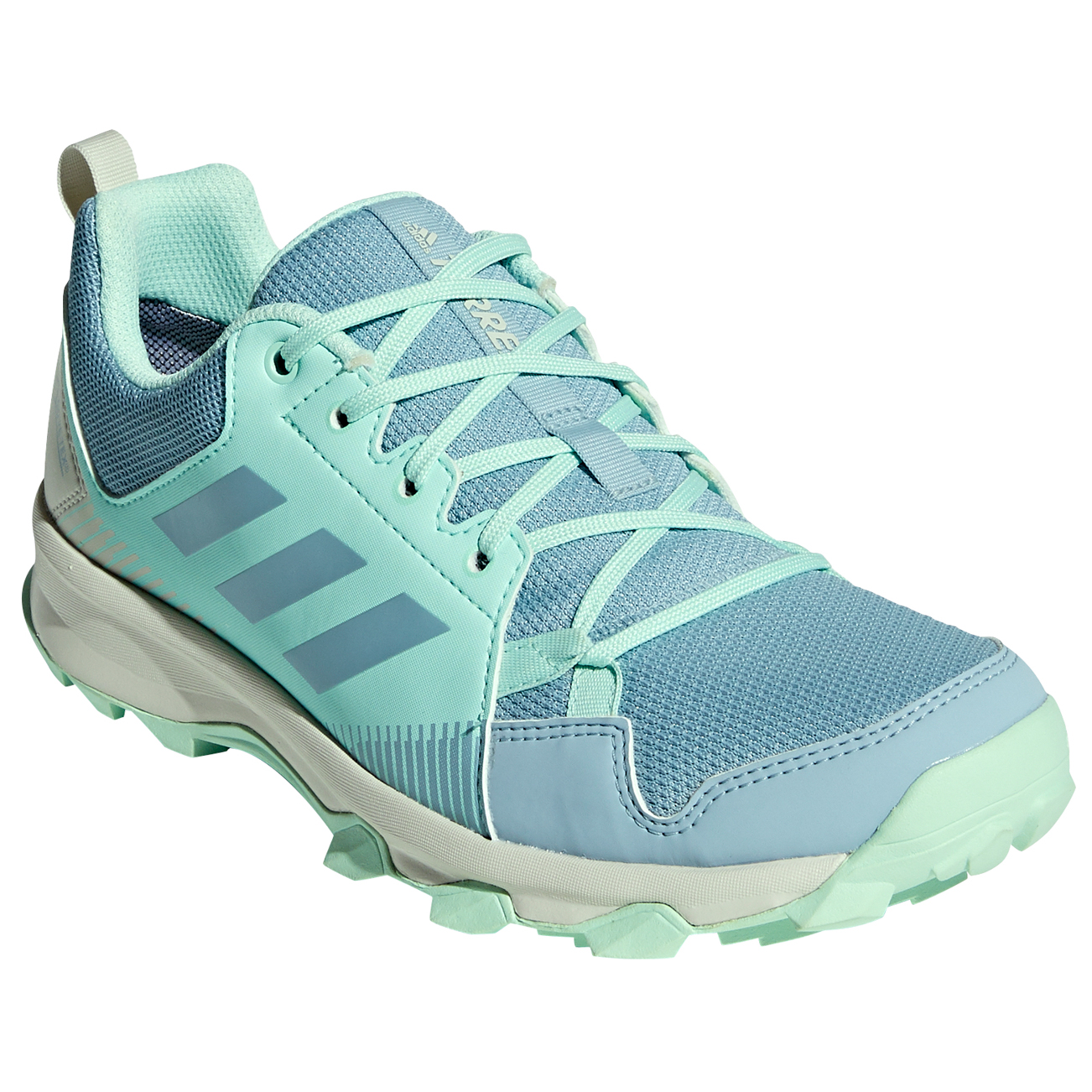 adidas - Women's Terrex Tracerocker GTX - Chaussures de trail - Core Black  / Carbon / Ash Green | 4 (UK)