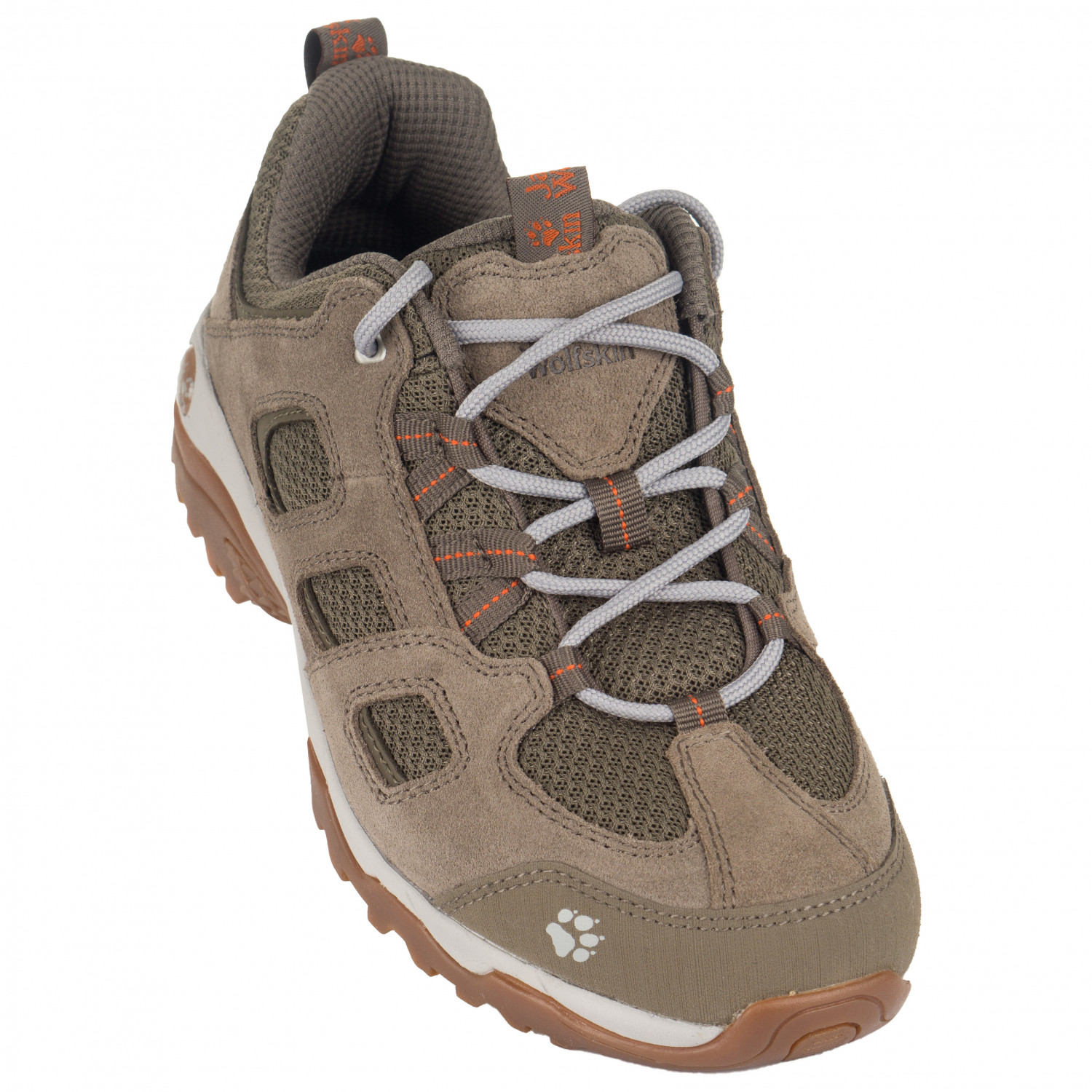 Jack Wolfskin Women's Vojo Hike 2 Low Multisportschuhe Siltstone | 4 (UK)