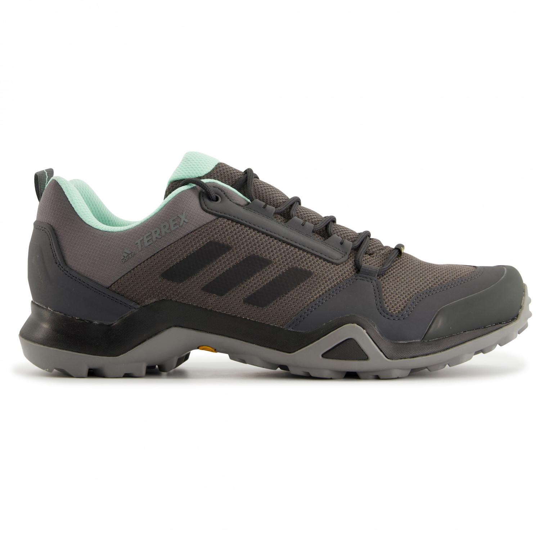 adidas Women's Terrex AX3 GTX Chaussures multisports Tech Indigo Grey Two F17 Signal Coral | 4 (UK)