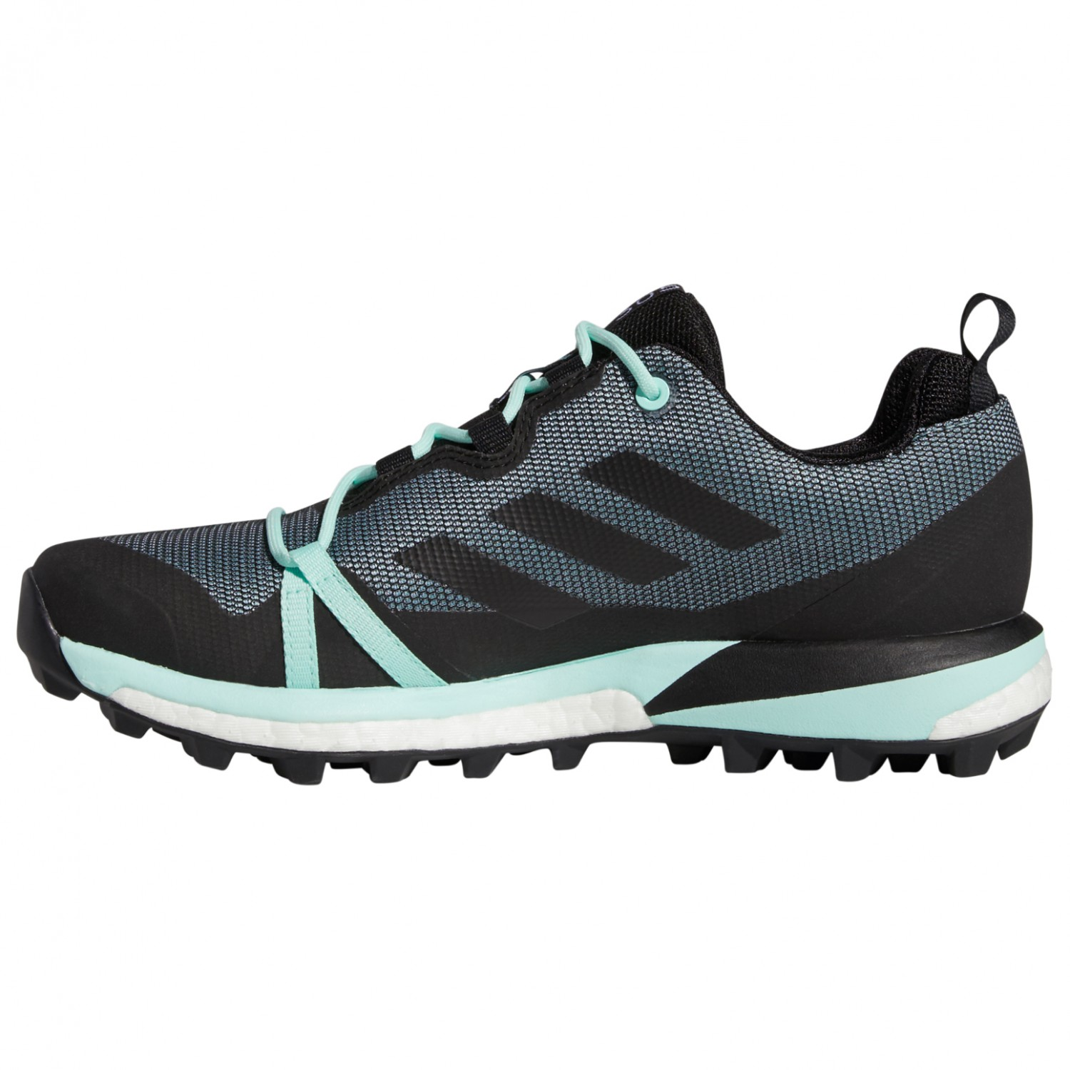 adidas - Women's Terrex Skychaser LT GTX - Multisportschuhe - Carbon / Core  Black / Active Pink | 3,5 (UK)