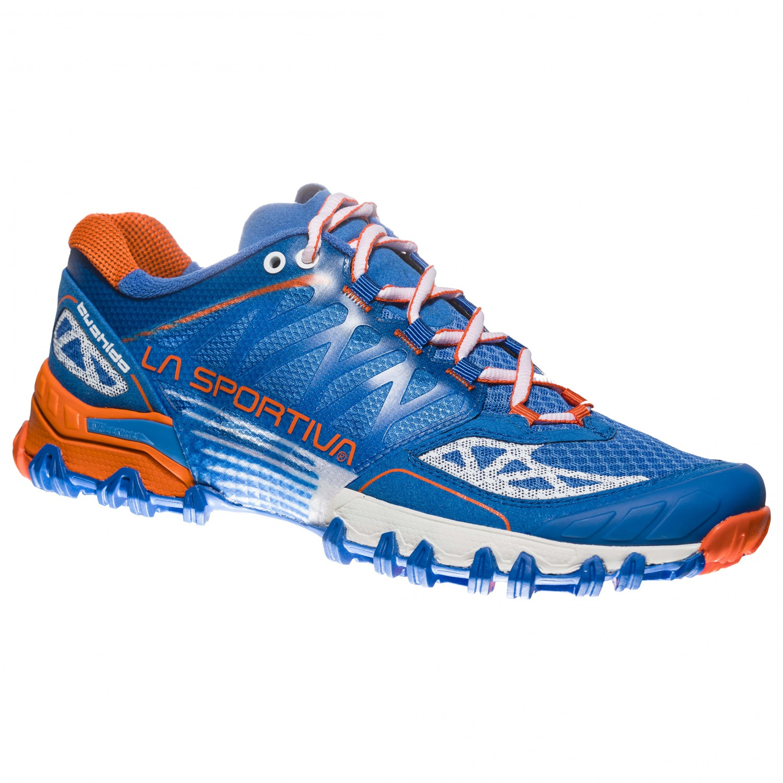 La Sportiva - Women's Bushido - Trailrunningschuhe Marine Blue / Lily Orange