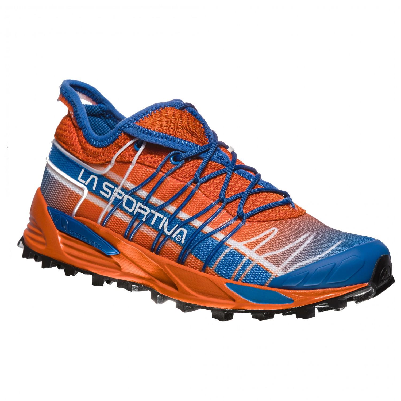 La Sportiva - Women's Mutant - Trailrunningschuhe Lily Orange / Marine Blue