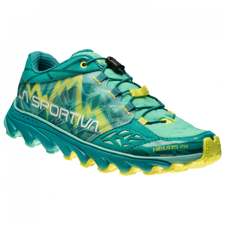 La Sportiva - Helios 20 Woman - Trailrunningschuhe Marine Blue / Lily Orange