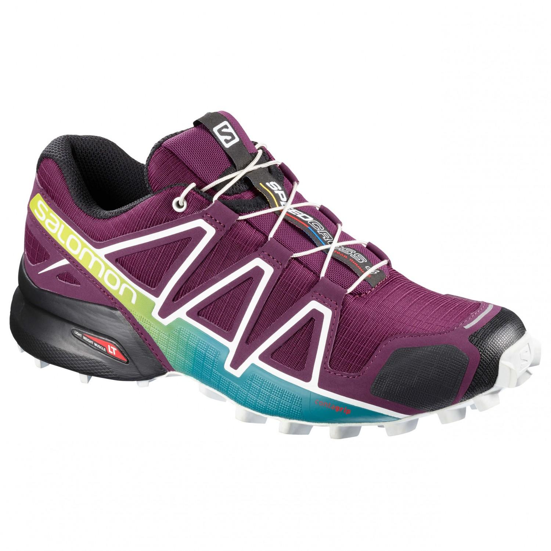 Salomon - Women's Speedcross 4 - Trailrunningschuhe Dark Purple / White / Deep Lake