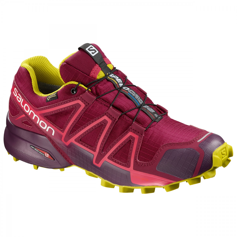 meilleur service a7548 3e9d8 Salomon - Women's Speedcross 4 GTX - Trail running shoes - Black / Black /  Metallic Bubble Blue | 3,5 (UK)