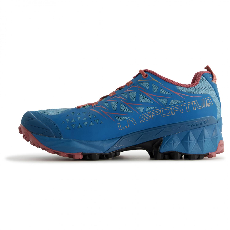 La Sportiva Women's Akyra Trail running shoes Black Aqua | 36 (EU)