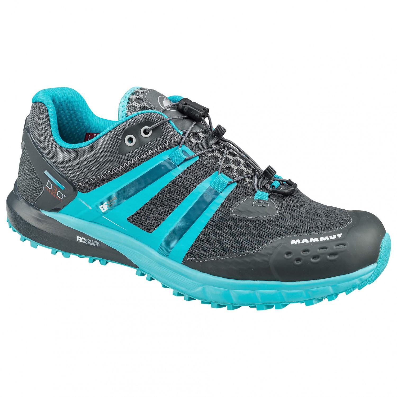 Mammut - MTR 201-II Low Women - Trailrunningschuhe Graphite / Light Pacific