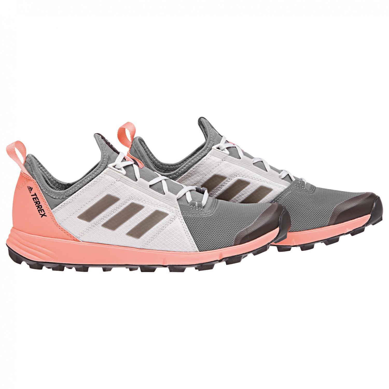 637f82ea5037 adidas - Women s Terrex Agravic Speed - Trailrunningschuhe Grey Three F17    Core Black   Chalk