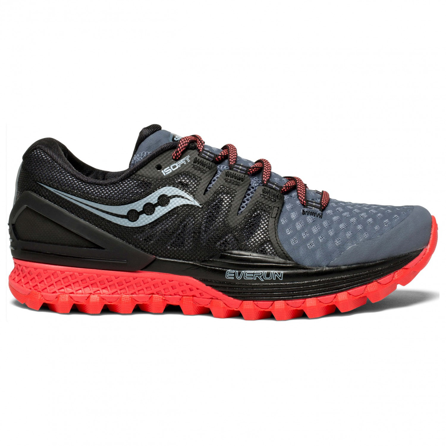 Xodus Scarpe Vizi Trail 2 Running Black Iso Per Saucony Women's Red6 0us Grey WEH2IYD9