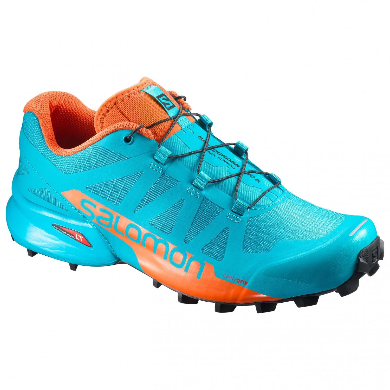 Orange|Blue – Salomon Speedcross Pro 2 Trail Running Shoes Womens Running OrangeBlue