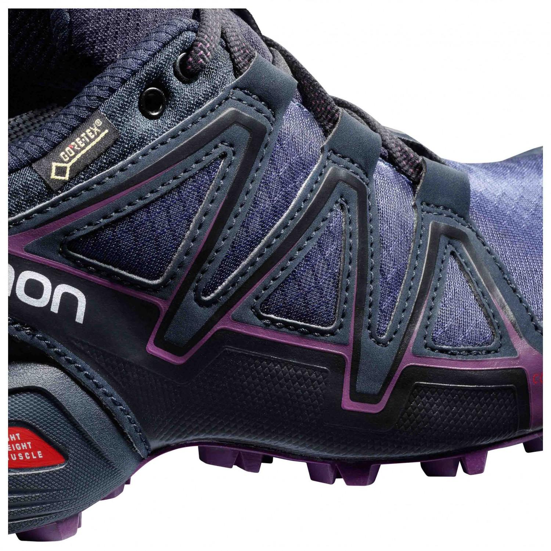 43a10d4b75 Salomon - Women's Speedcross Vario 2 GTX - Chaussures de trail - Deep  Lagoon / Black / Tropical Green | 4,5 (UK)