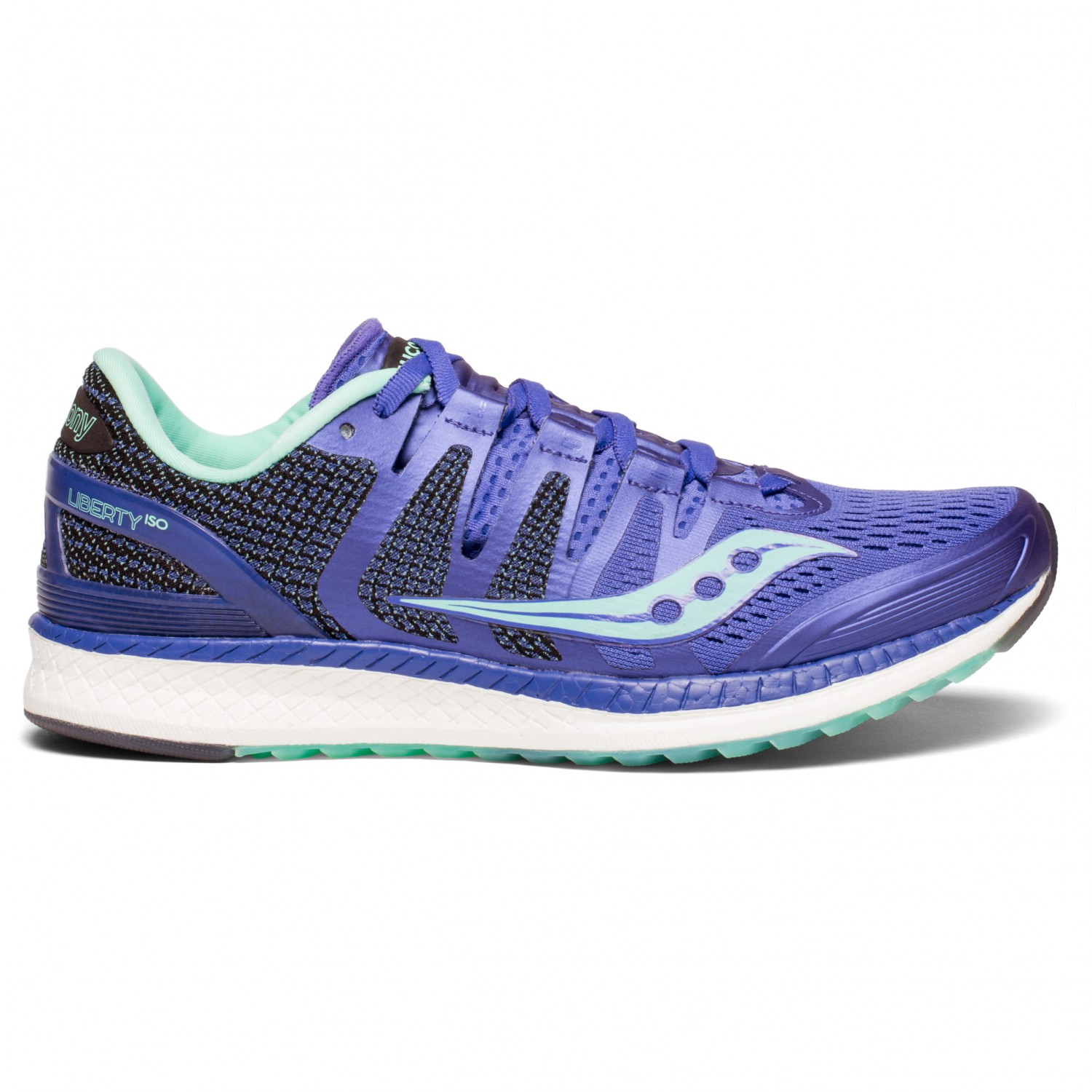 Blue Saucony Liberty ISO Womens Running Shoes
