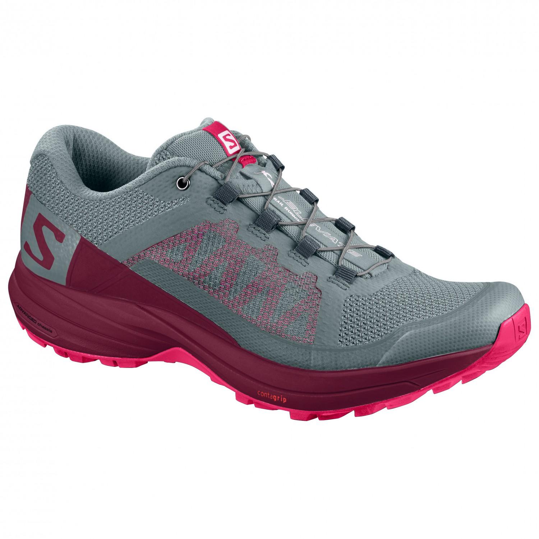 7f0952ed Salomon - Women's XA Elevate - Trail running shoes - Lead / Beet Red /  Virtual Pink | 4 (UK)