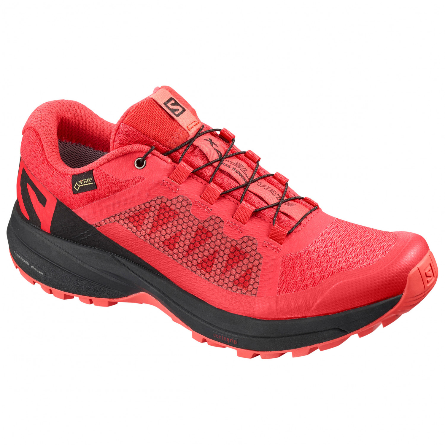 Salomon Women's XA Elevate GTX Trailrunningschoenen Hibiscus Black Dubarry | 5,5 (UK)
