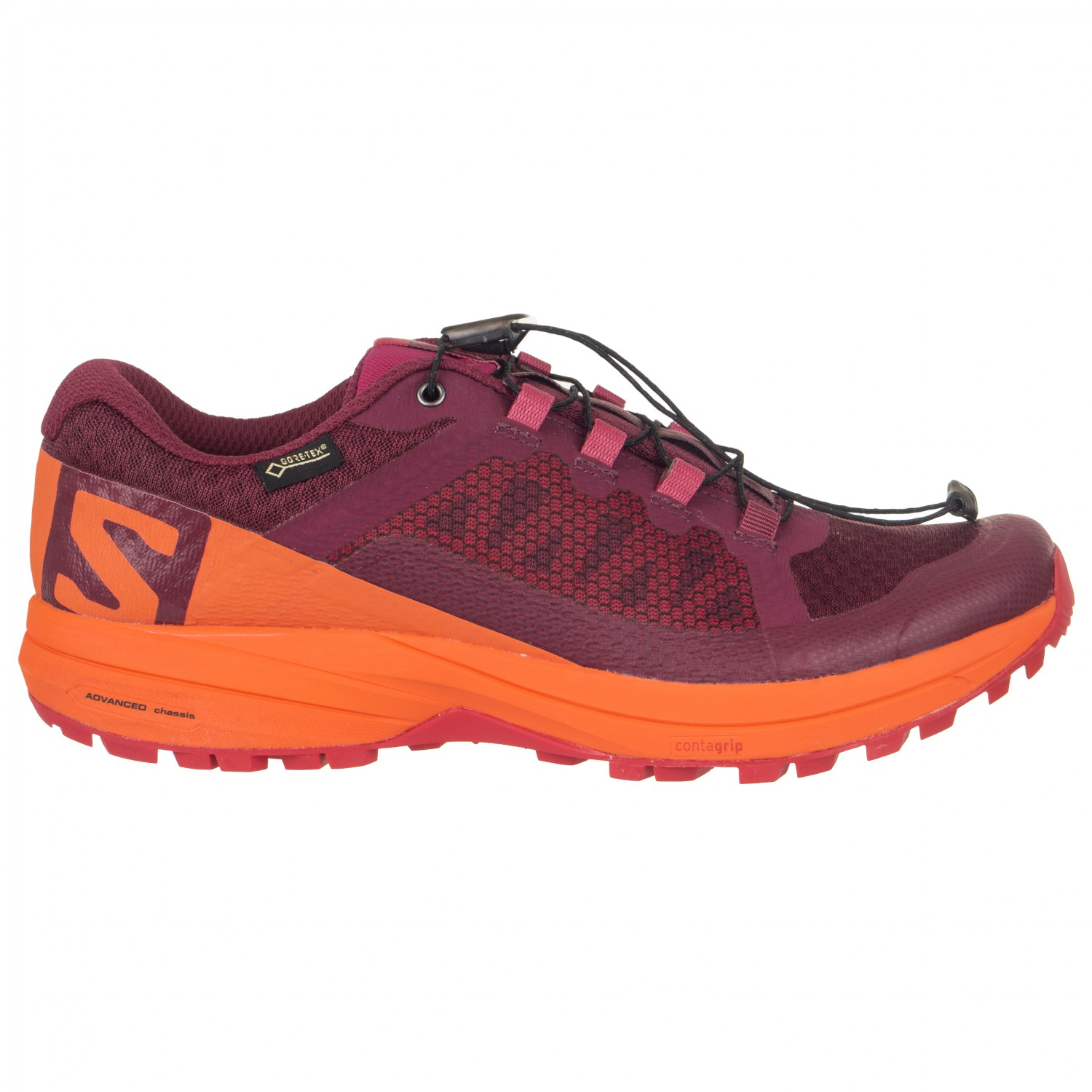 Salomon XA Elevate GTX Running Shoe Women\'s Beet RedNasturtiomVirtual Pink 5