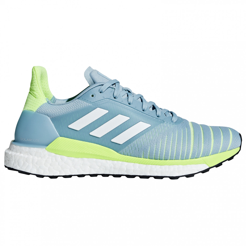 White Adidas Solar Ash Grey Zapatillas 5uk Glide Para Correr Women's Res Yellow4 Hi Ftw DWE9I2H