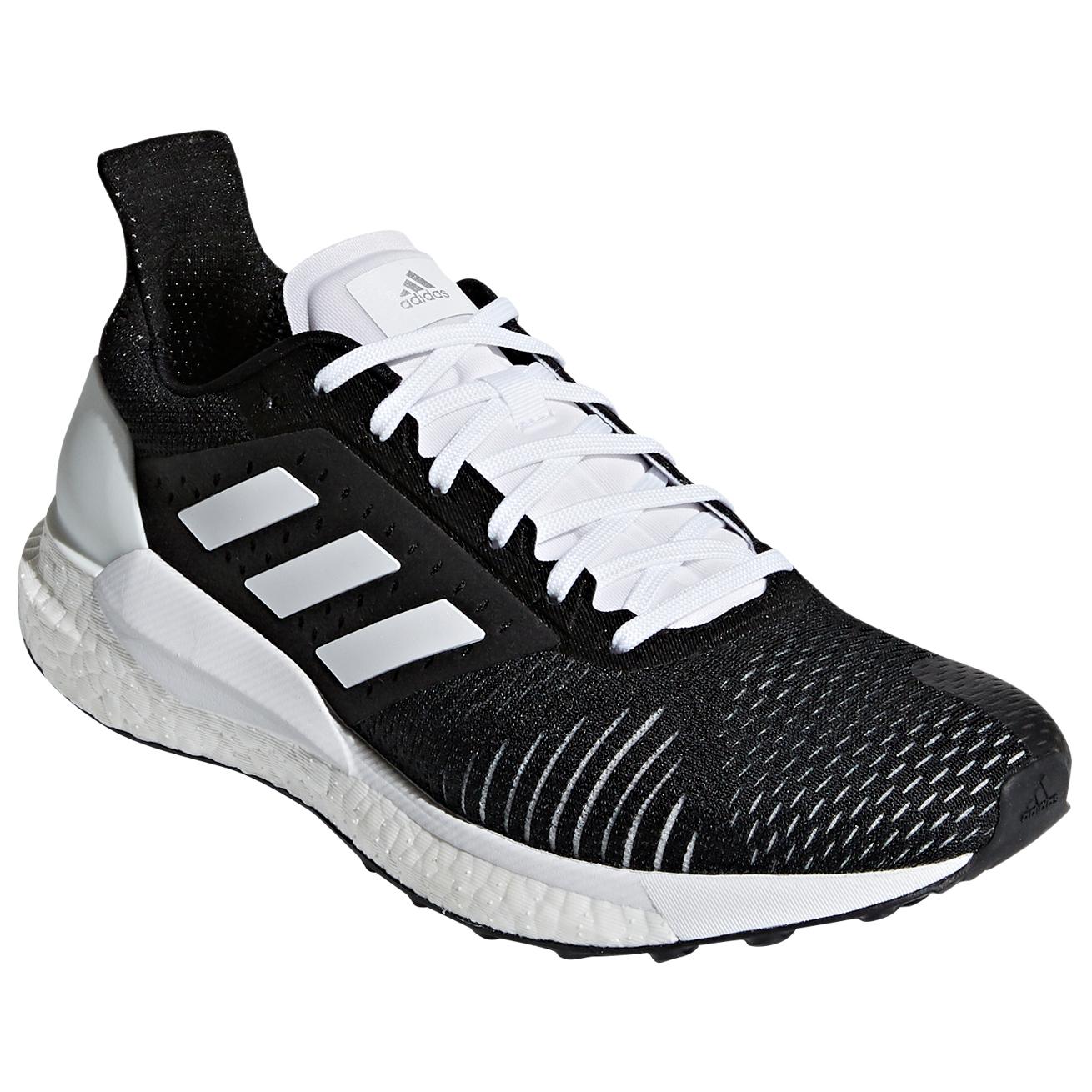 adidas - Women's Solar Glide ST - Scarpe da corsa - Core Black / Core Black  / Ftwr White | 4,5 (UK)