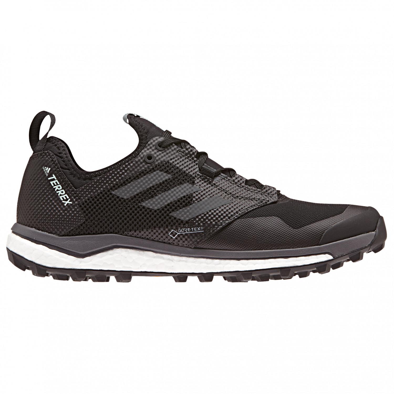 adidas Women's Terrex Agravic XT GTX Chaussures de trail Core Black Grey Five Ash Green   4 (UK)
