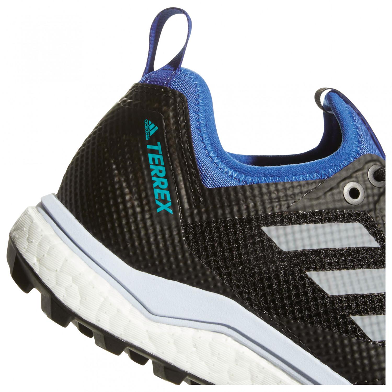adidas - Women's Terrex Agravic XT GTX - Trail running shoes - Core Black /  Grey Five / Ash Green | 4 (UK)