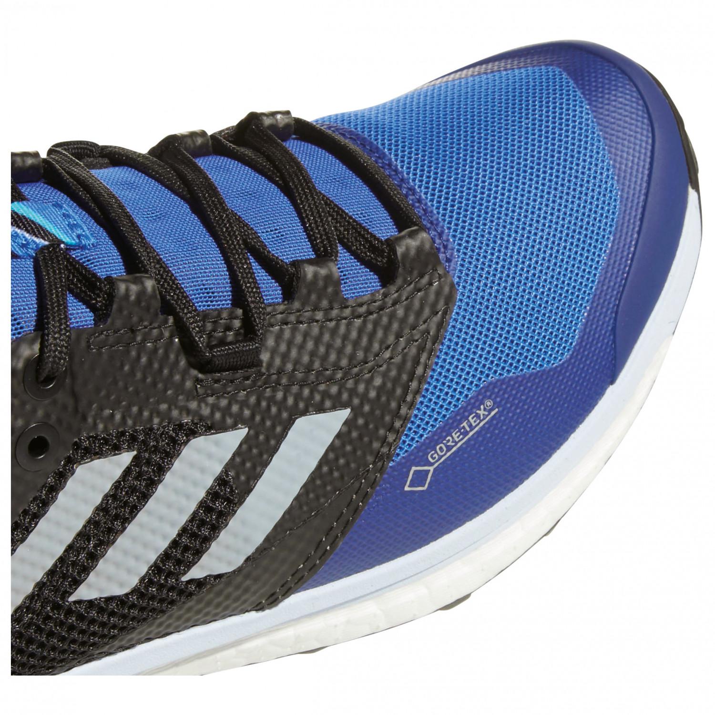 adidas Women's Terrex Agravic XT GTX Trail running shoes Core Black Grey Five Ash Green | 4 (UK)
