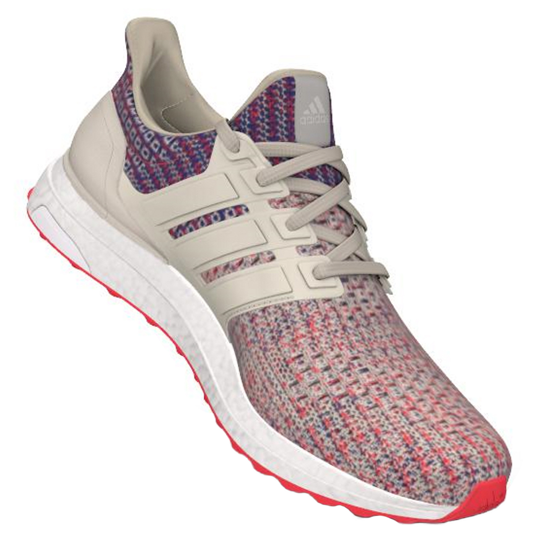 nouvelle collection caef0 4da87 adidas - Women's Ultraboost - Chaussures de running - Core Brown / Shock  Red / Active Blue | 5 (UK)