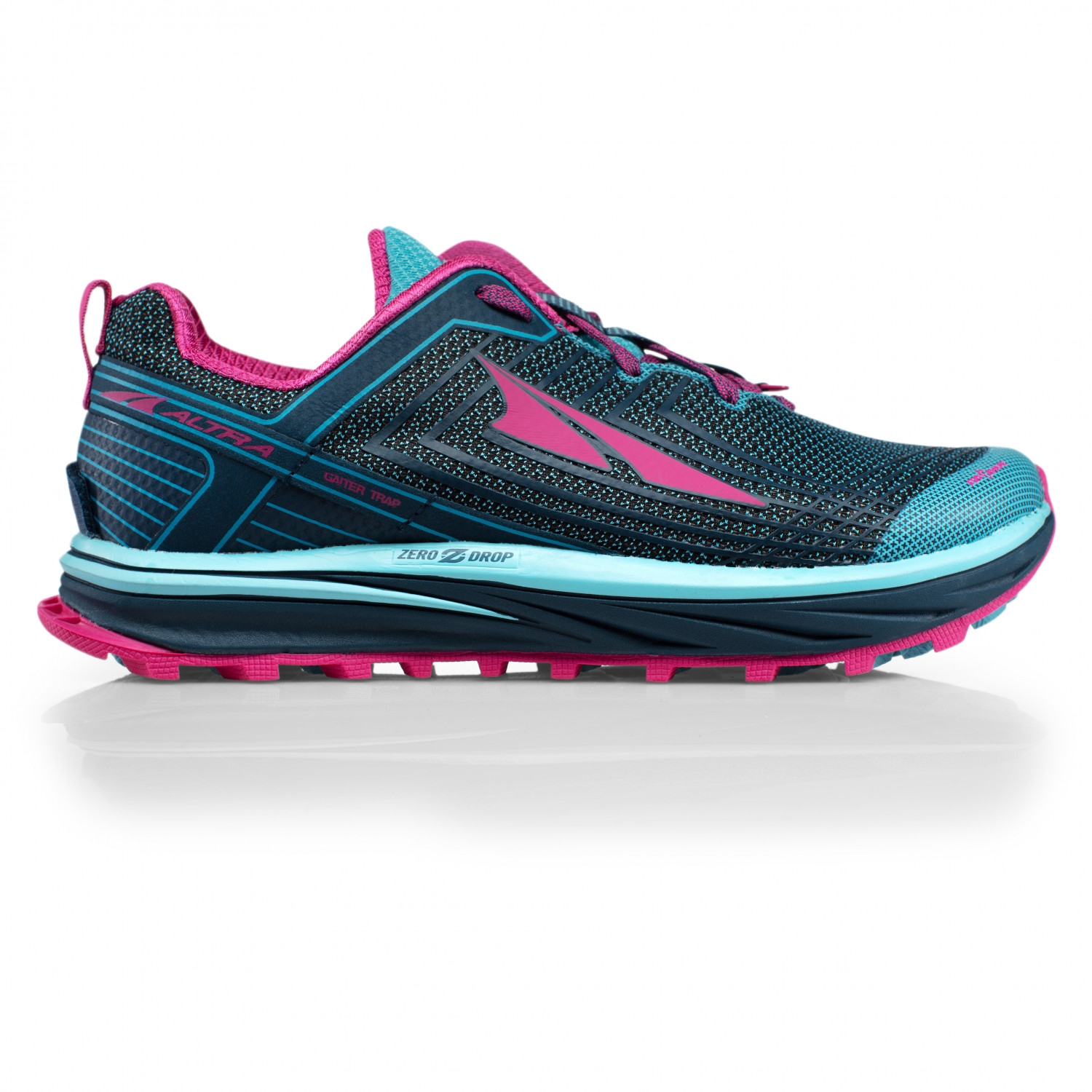 quality design 9bd0b e1edc Altra - Women's Timp 1.5 - Trail running shoes - Blue / Raspberry | 6,5 (US)