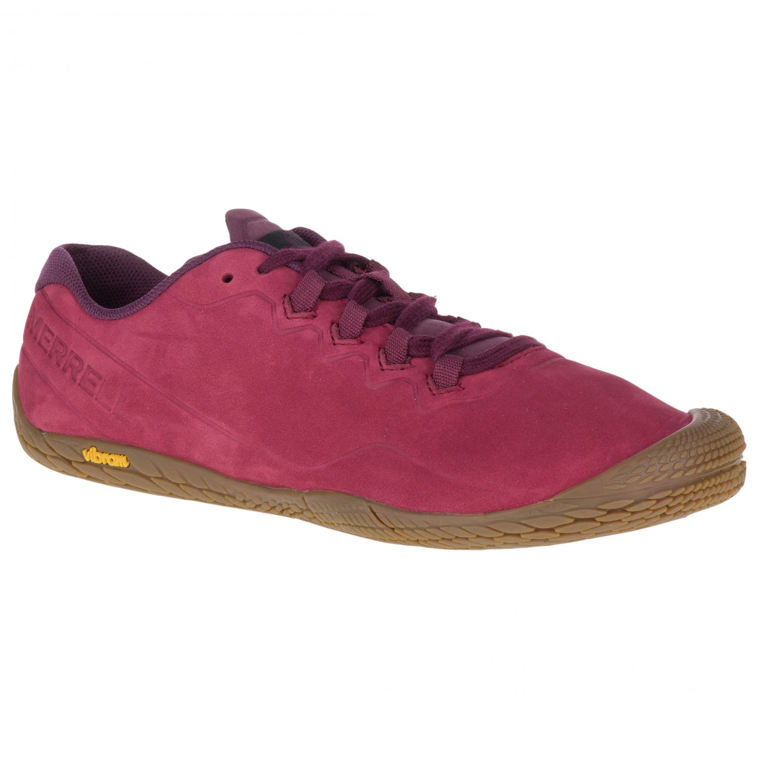 best service 68fd4 9935b Merrell - Women's Vapor Glove 3 Luna Leather - Scarpe per trail running -  Pomegranate | 37 (EU)