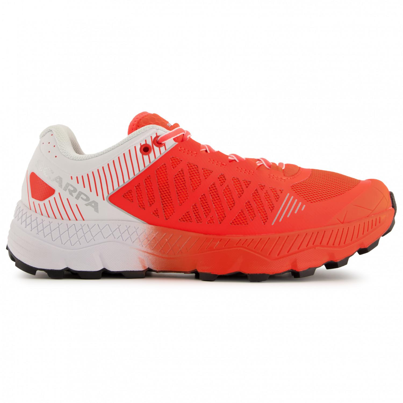 comment choisir réduction jusqu'à 60% magasiner pour authentique Scarpa - Women's Spin Ultra - Chaussures de trail - Bright Red / White | 37  (EU)