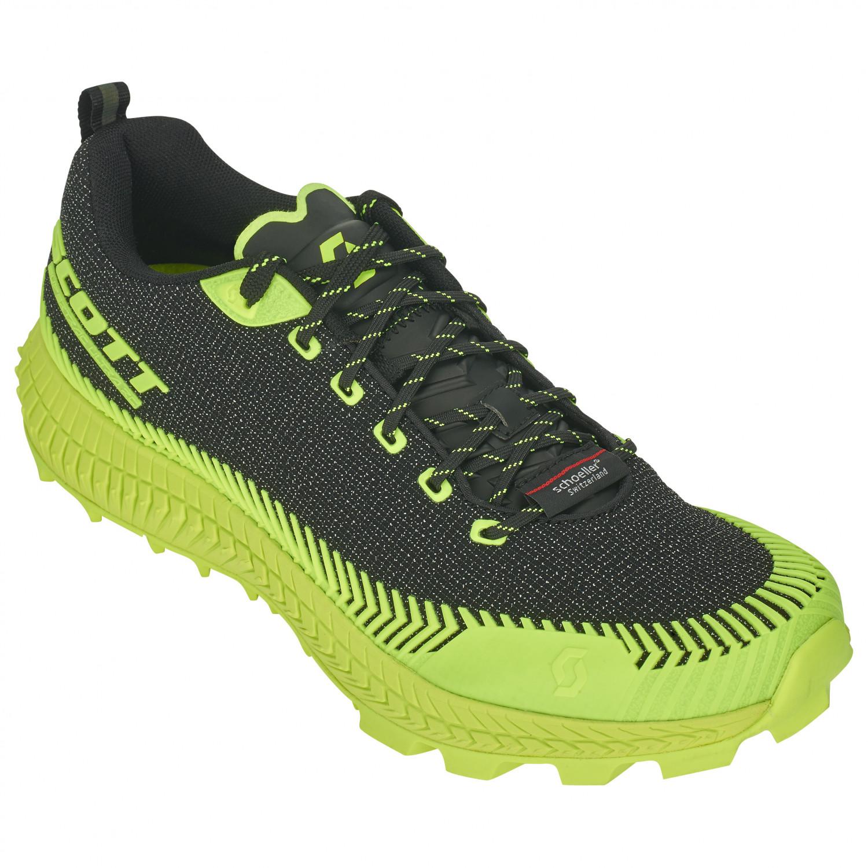 Scott Women's Supertrac Ultra RC Chaussures de trail Black Yellow | 6 (US)