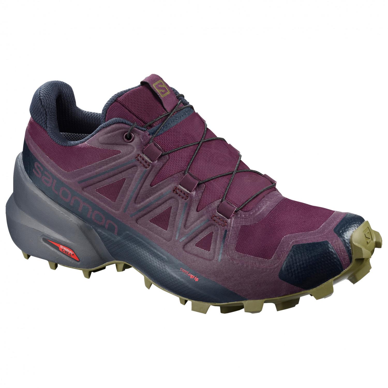 2178f6e3 Salomon - Women's Speedcross 5 - Trail running shoes - Black / Black /  Phantom | 4 (UK)