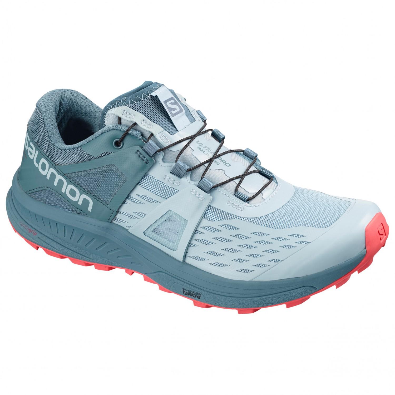 Salomon Women's Ultra Pro Chaussures de trail Ebony Meadowbrook Icy Morn   4 (UK)