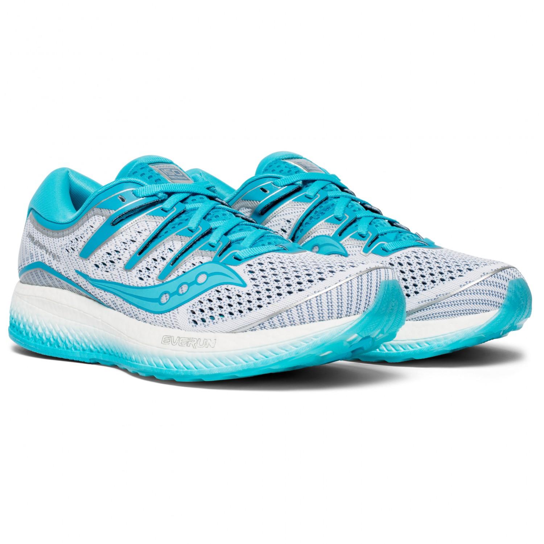 Saucony Women's Triumph Iso 5 Chaussures de running White Blue | 7 (US)