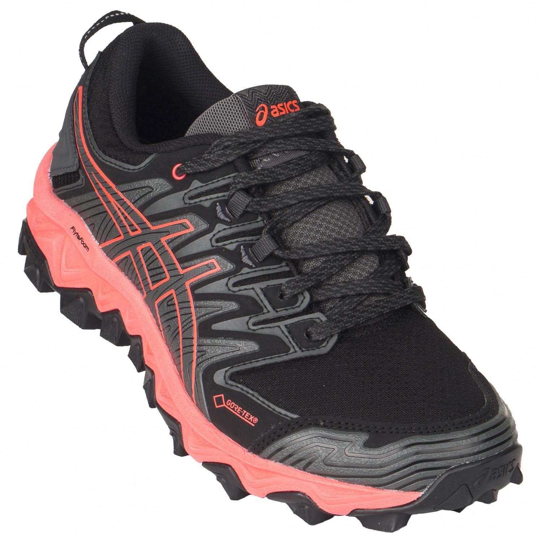Asics - Women's Gel-FujiTrabuco 7 GTX - Trailrunningschuhe - Black / Dark Grey | 5,5 (EU)