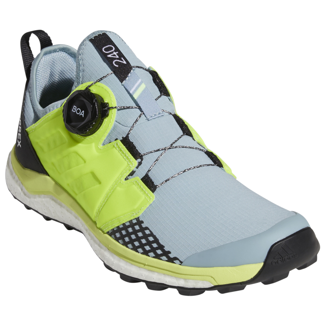 adidas Women's Terrex Agravic Boa Trailrunningschuhe Core Black Non Dyed Carbon   4 (UK)