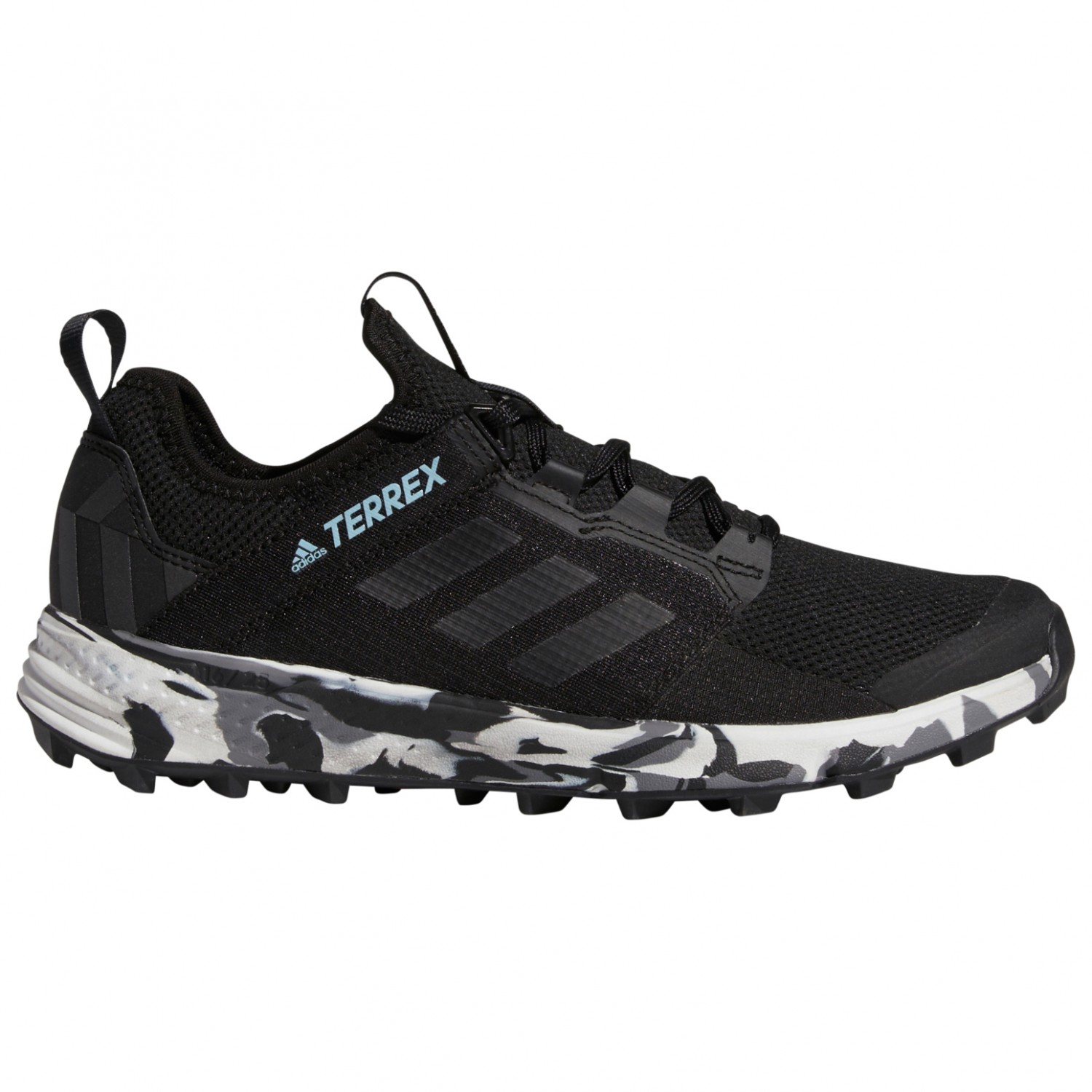 adidas Women's Terrex Agravic Speed + Trailrunningschuhe Core Black Non Dyed Ash Grey | 4 (UK)