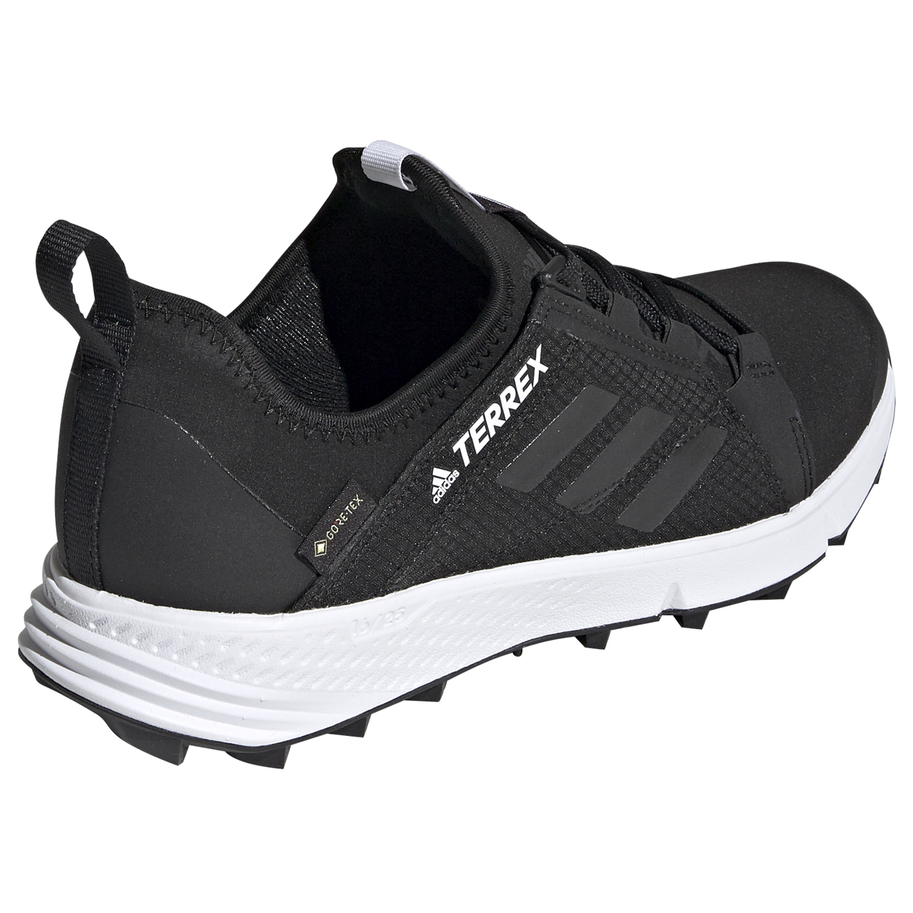 adidas - Women's Terrex Agravic Speed GTX - Trail running shoes - Core  Black / Core Black / Ftw White | 4 (UK)