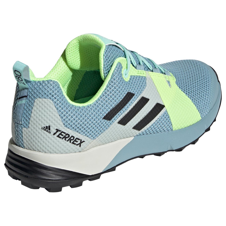 adidas Women's Terrex Two Chaussures de trail Core Black Carbon Ash Grey | 7,5 (UK)
