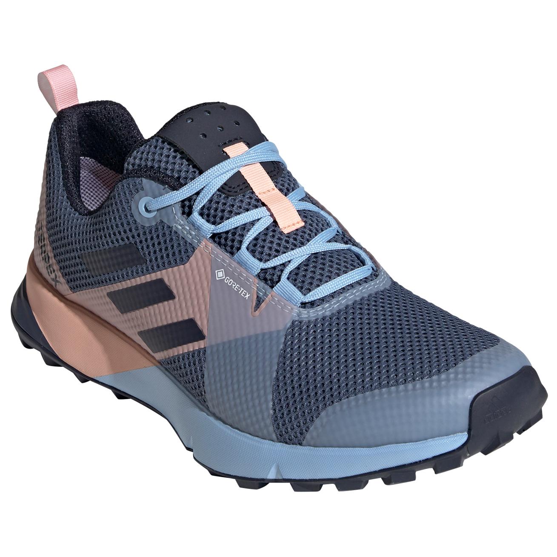 adidas Women's Terrex Two GTX Trail running shoes Core Black Grey Three Ash Grey | 4 (UK)