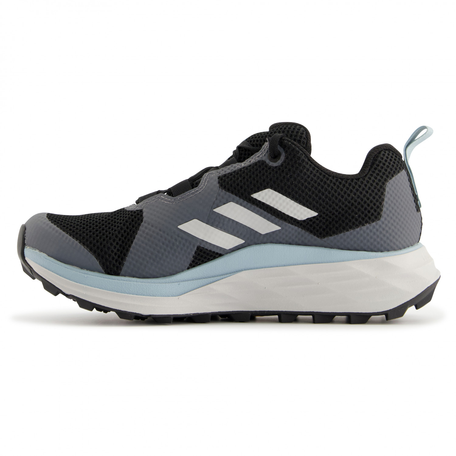 adidas - Women's Terrex Two GTX - Trail running shoes - Core Black / Grey  Three / Ash Grey | 4 (UK)
