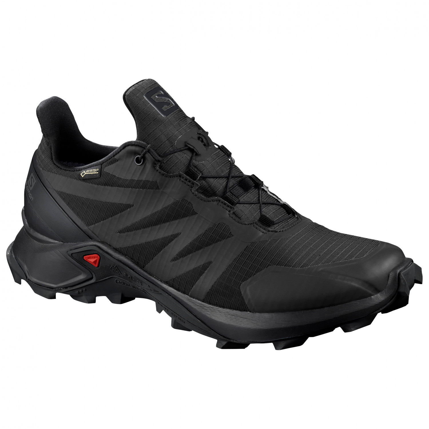 Salomon Women's Supercross GTX Trailrunningschuhe Black Black Black | 4 (UK)