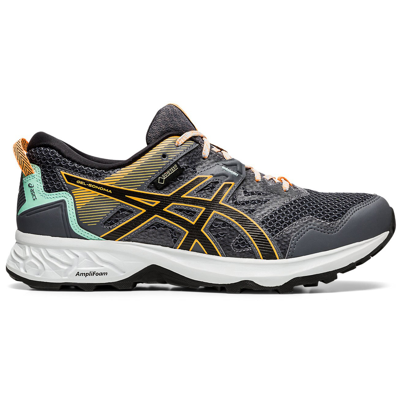 Asics - Women's Gel-Sonoma 5 GTX - Trail running shoes - Black / Black |  5,5 (US)