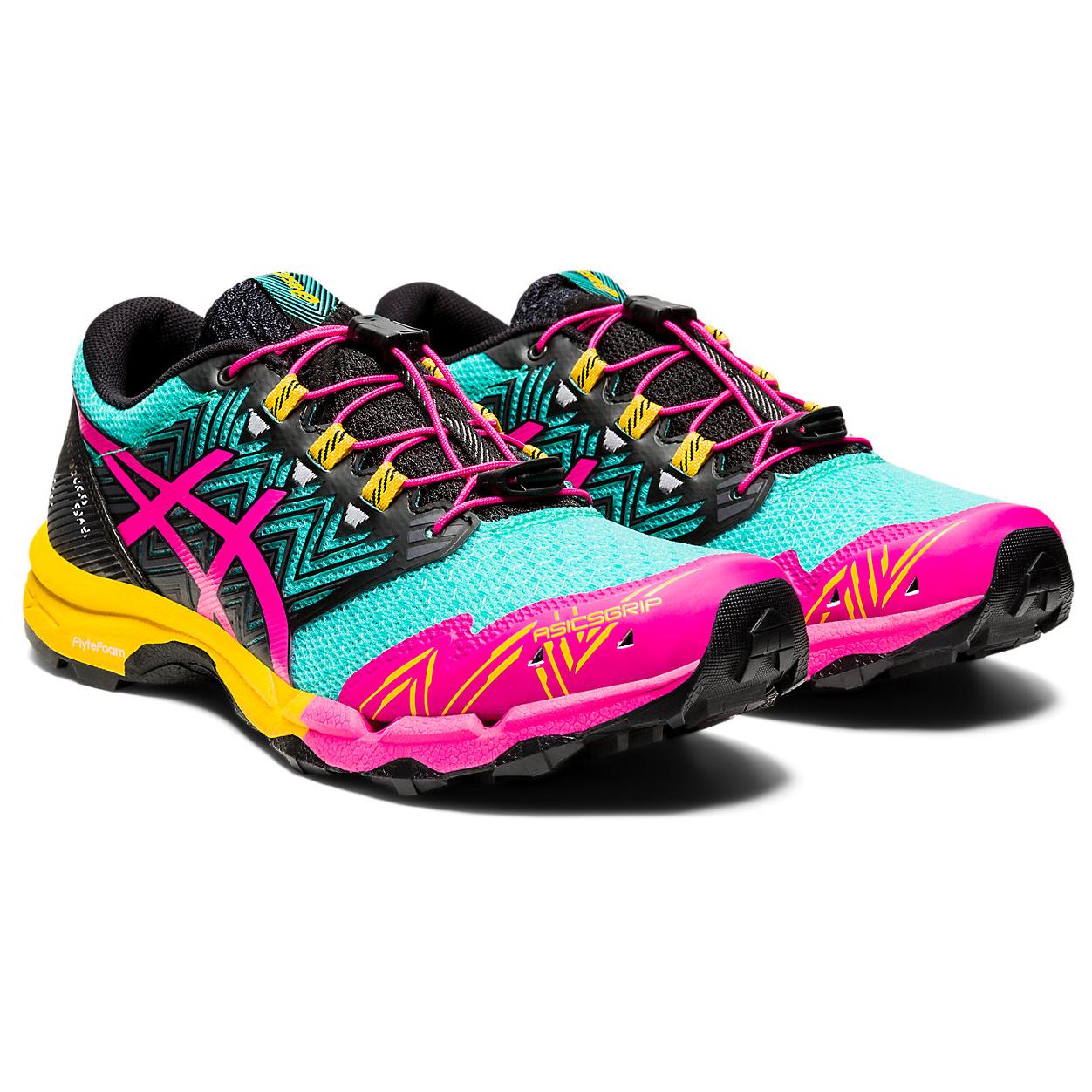Asics - Women's Gel-Fujitrabuco Sky - Trail running shoes - Digital Grape / Baltic Jewel | 6 (US)