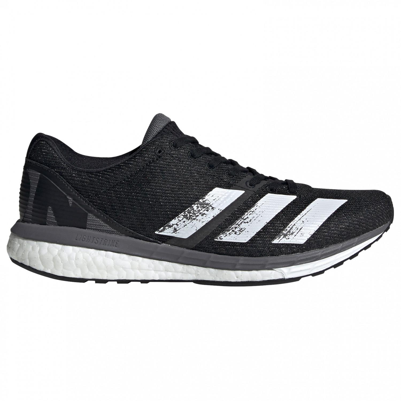 adidas - Women's Adizero Boston 8 - Running shoes - Core Black / Ftwr White  / Grey Five | 4 (UK)