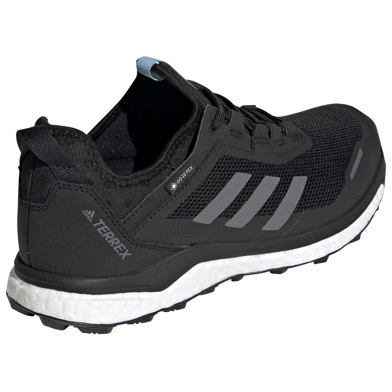 adidas - Women's Terrex Agravic Flow GTX - Trail running shoes - Cblack /  Grethr / Grefou | 3,5 (UK)